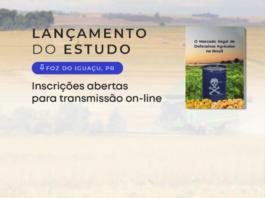Convite ao lançamento do estudo Mercado Ilegal de Defensivos Agrícolas em Foz do Iguaçu